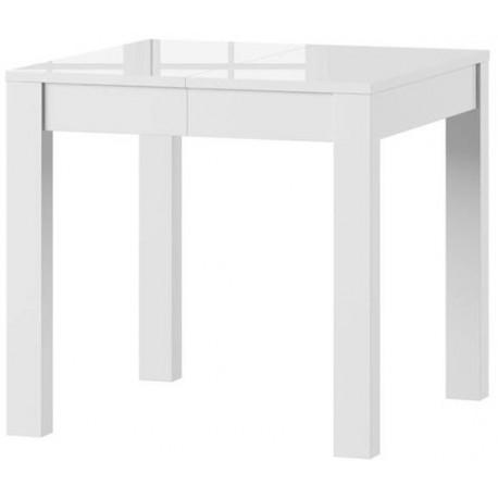 VEGA stół 80/230 cm biały połysk rozsuwany