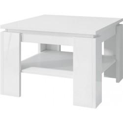 Square - stolik kawowy Biały połysk