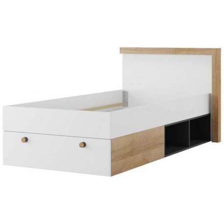 Riva 50 łóżko 90x200 ze stelażem