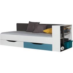 Tablo TA12A + TA12B łóżko z regałem