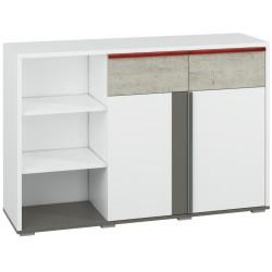 TRAFFIC 07 duża komoda 138 cm z szufladami