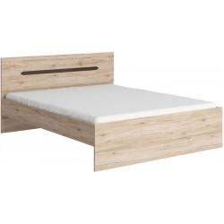 Elpasso łóżko LOZ160 ze stelażem basic