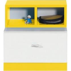 Mobi MO17 szafka nocna żółty