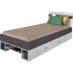 Next NX19 łóżko 90 cm earth