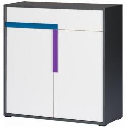 IKAR 10 komoda 84 cm dwudrzwiowa z szufladą