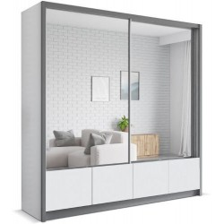 LUIS szafa 200 z lustrem