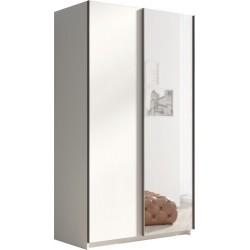 RICK szafa 120 cm przesuwna z lustrem