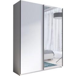 RICK szafa 150 cm przesuwna z lustrem