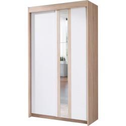 BELT szafa 120 cm przesuwna z lustrem