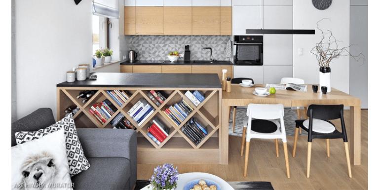 Jak urządzić mały salon z kuchnią? Pomysły na aranżacje salonu z aneksem kuchennym