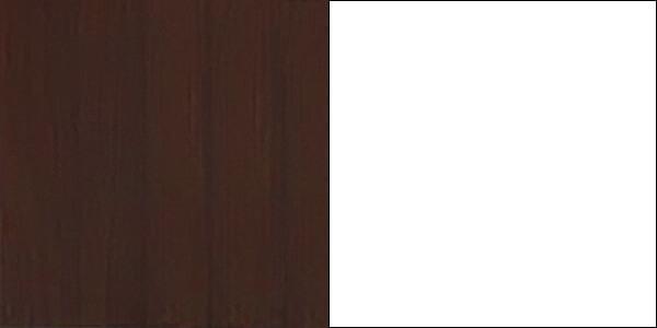 Marika 120 szafa dwudrzwiowa wenge biały
