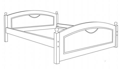 LK 103 łóżko techniczny