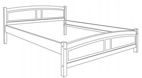 LK 104 łóżko techniczny