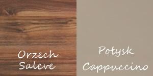Obsession orzech saleve połysk cappuccino