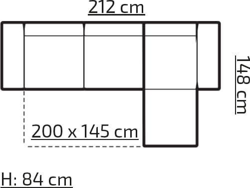 Compact Bis narożnik wymiary