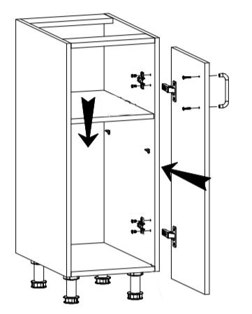 Royal szafka D30 techniczny