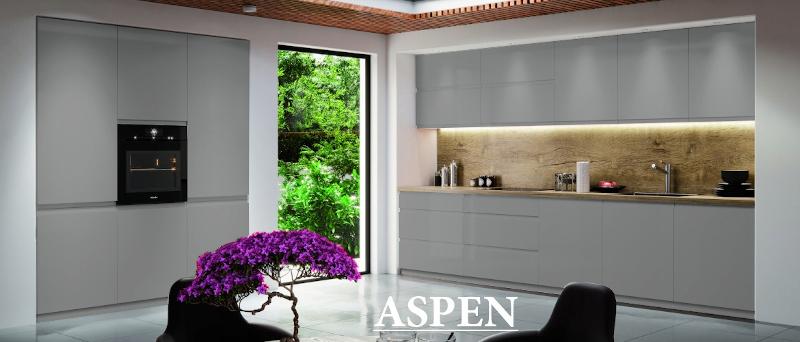 Aspen aranżacja szary