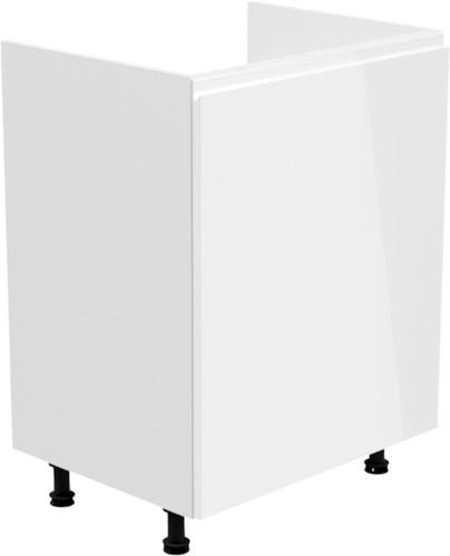 Aspen d60z jednodrzwiowa biała
