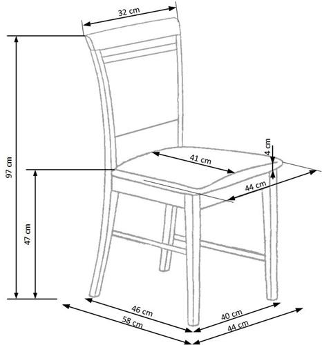 Albert techniczny krzeslo