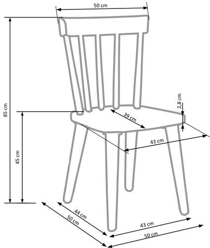 Barkley techniczny krzeslo