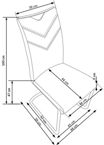 Krzesło k224 techniczny