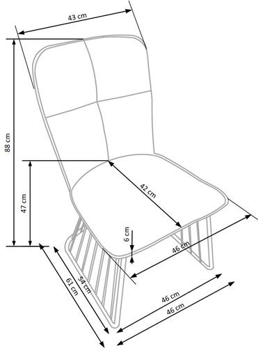 Krzeslo k269 techniczny