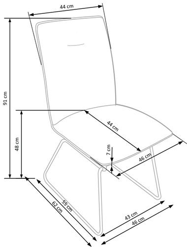Krzeslo k270 techniczny
