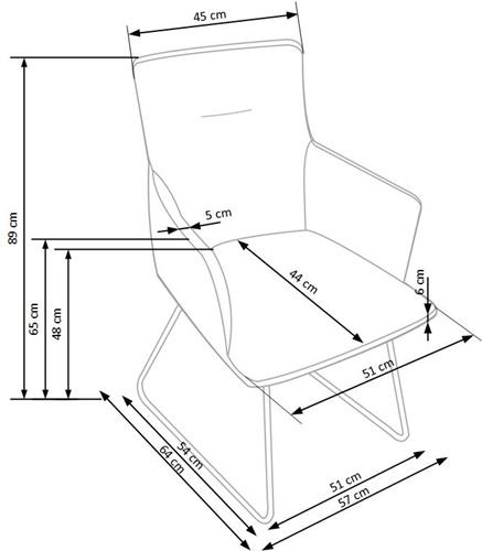 Krzeslo k271 techniczny