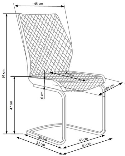 Krzeslo k272 techniczny