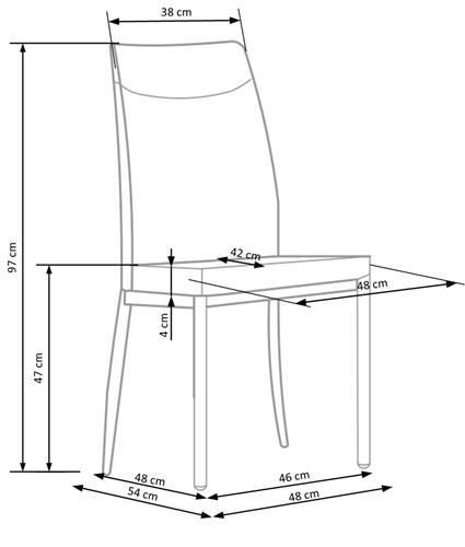 Krzeslo k276 techniczny