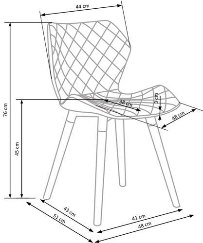 Krzeslo k277 techniczny
