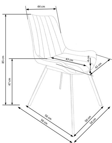 Krzeslo k279 techniczny