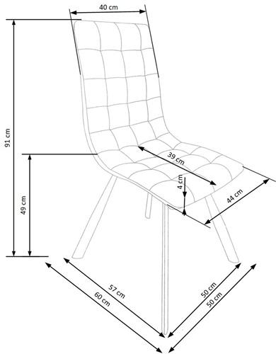 Krzeslo k280 techniczny