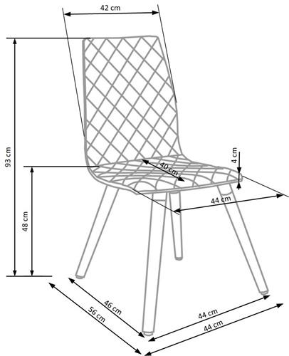 Krzeslo k282 techniczny