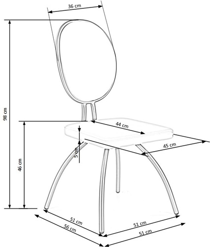Krzesło k297