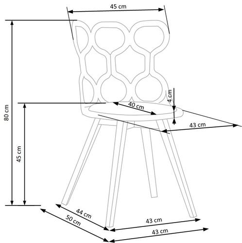 Krzesło k308