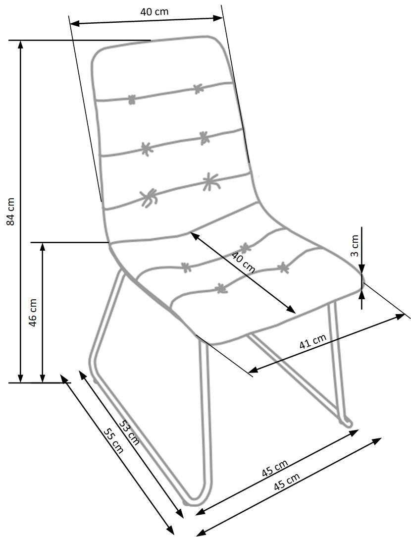 Krzesło k321
