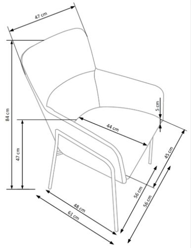 Krzesło k327