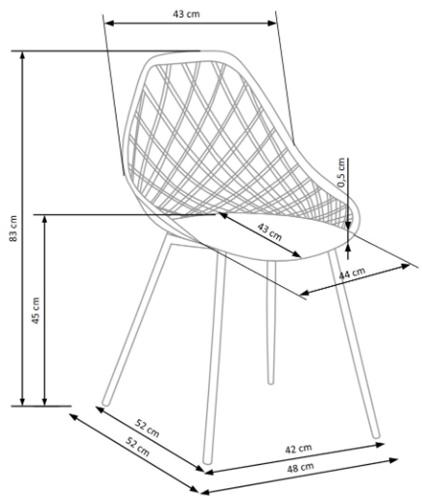 Krzesło k330