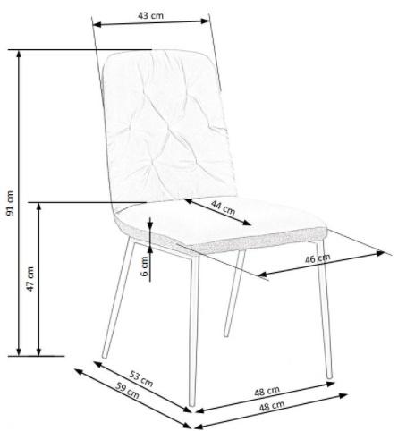 Krzesło k340