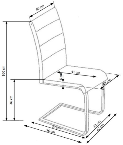 Krzeslo k351 techniczny