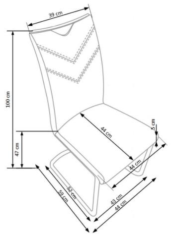 Krzeslo k352 techniczny