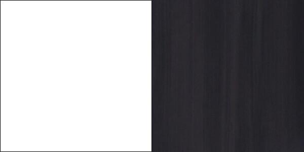 ROCO meblościanka do salonu biały mat sosna ciemna
