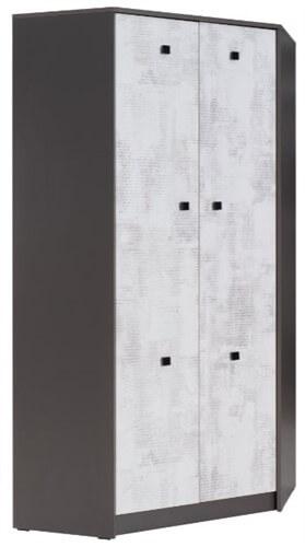 TOMMY 4 szafa narożna z półkami