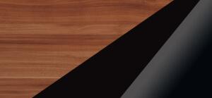 Biurka kolorystyka śliwa wallis czarny połysk