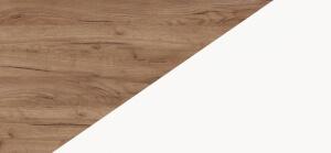 LARS kolorystyka Craft tobaco / Biały mat