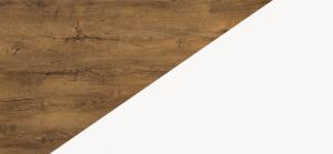LARS kolorystyka Dąb burgundzki / biały mat