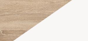 LARS kolorystyka Sonoma jasna / Biały mat