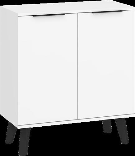 SVEN SVN-01 komoda 2D 80 cm na nóżkach