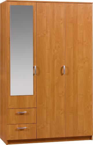 Wenecja 1 szafa 121 cm z lustrem i szufladami